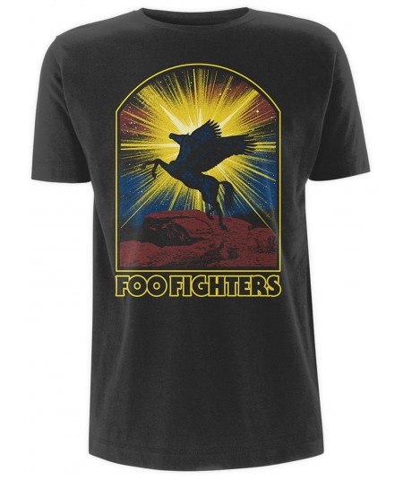 Tricou Unisex Foo Fighters: Winged Horse