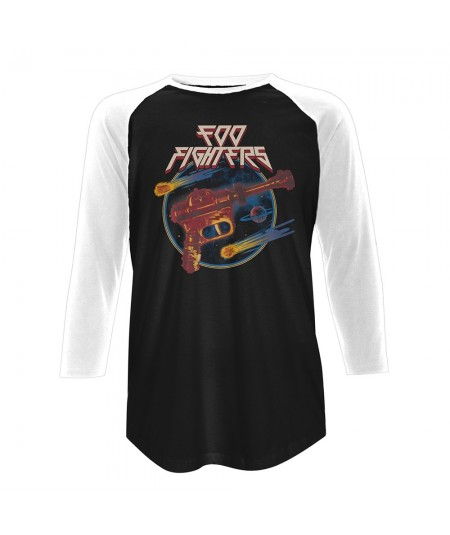 Tricou Maneca 3/4 Foo Fighters: Ray Gun