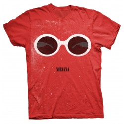Tricou Nirvana: Red Sunglasses