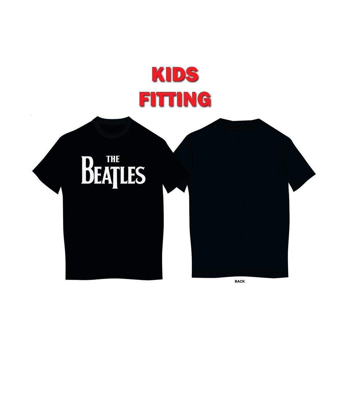Tricou Copii Beatles - The: Drop T Logo