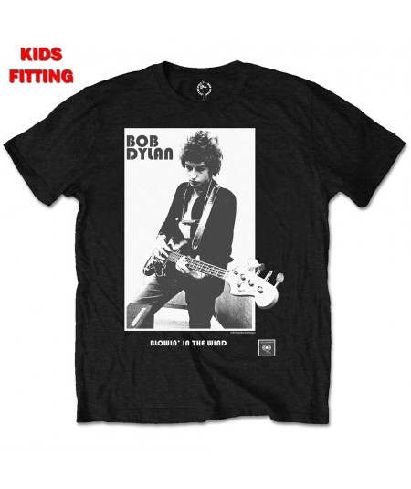 Tricou Copii Bob Dylan: Blowing in the Wind