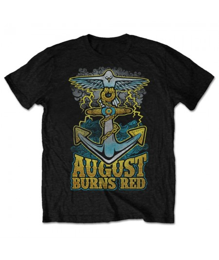 Tricou Unisex August Burns Red: Dove Anchor