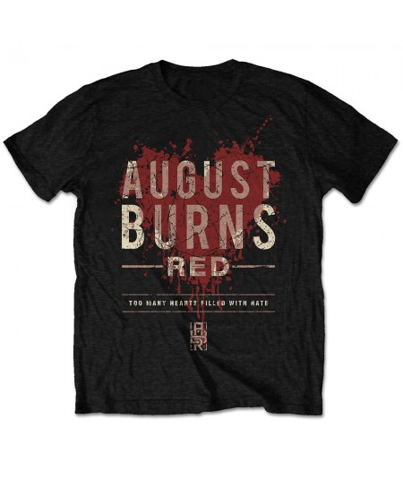 Tricou Unisex August Burns Red: Hearts Filled