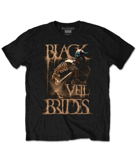 Tricou Unisex Black Veil Brides: Dust Mask