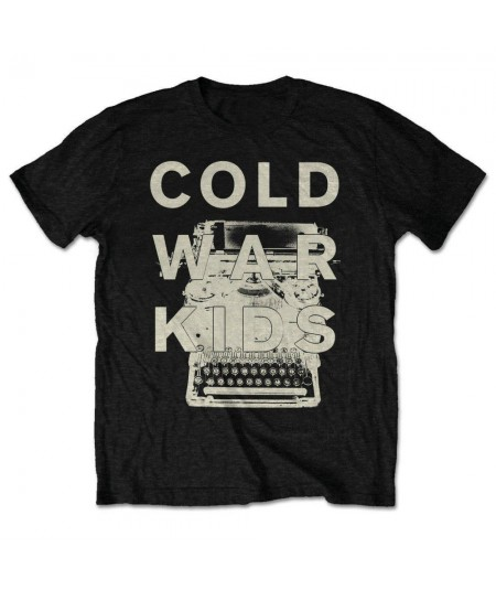 Tricou Unisex Cold War Kids: Typewriter