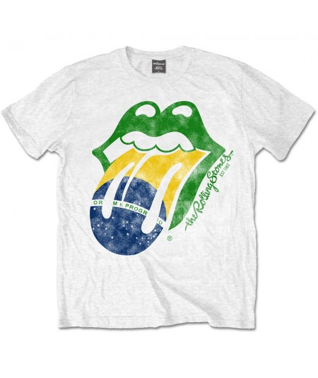Tricou Unisex Rolling Stones - The: Brazil Tongue