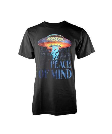 Tricou Unisex Boston: Peace Of Mind