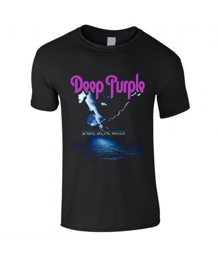 Tricou Unisex Deep Purple: Smoke On The Water
