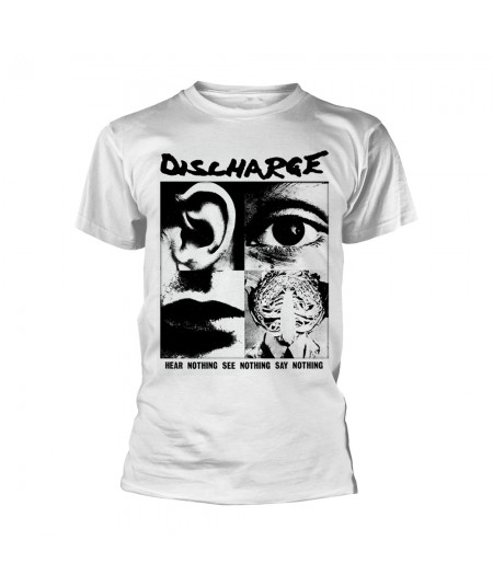 Tricou Unisex Discharge: Hear Nothing
