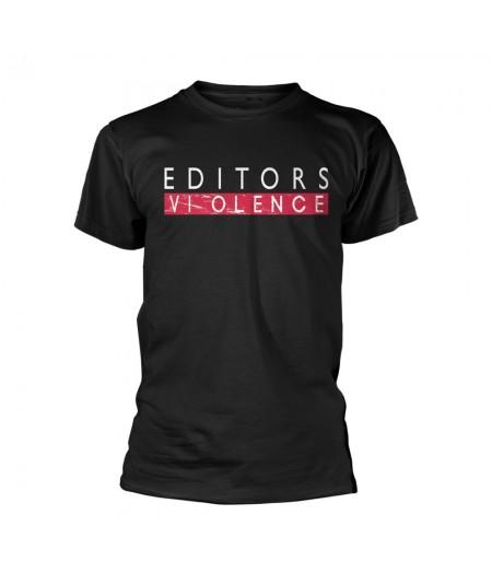 Tricou Unisex Editors: Violence