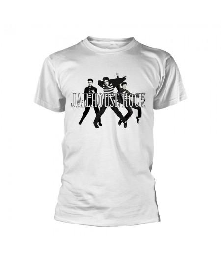 Tricou Unisex Elvis Presley: Jailhouse