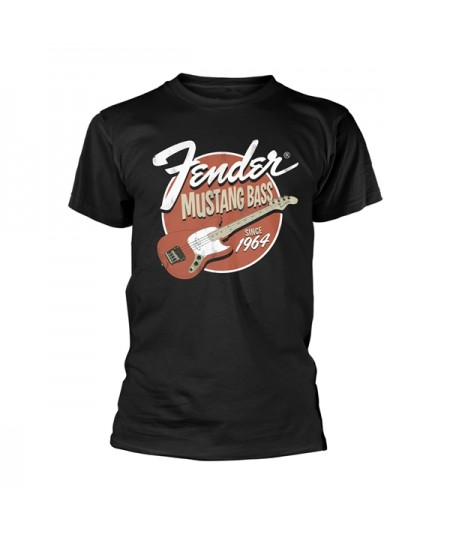 Tricou Unisex Fender: Mustang Bass