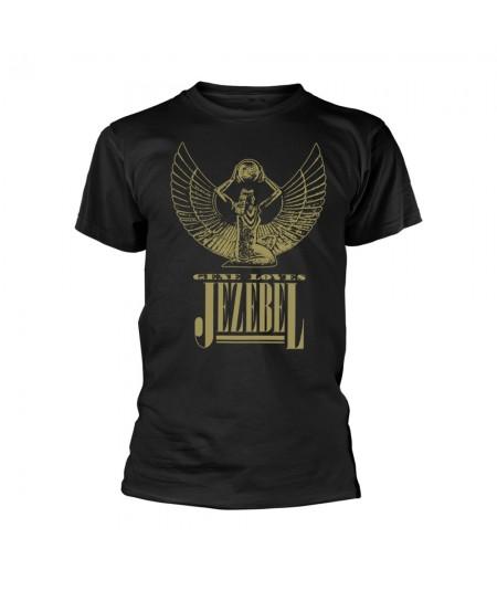 Tricou Unisex Gene Loves Jezebel: Logo