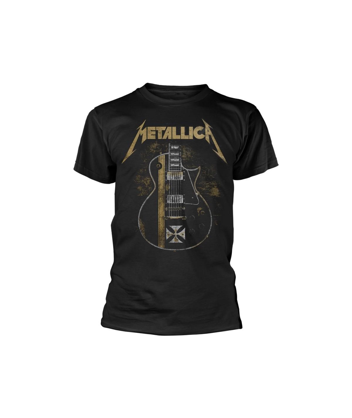 Tricou Unisex Metallica: Hetfield Iron Cross