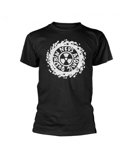 Tricou Unisex Ned'S Atomic Dustbin: White Logo