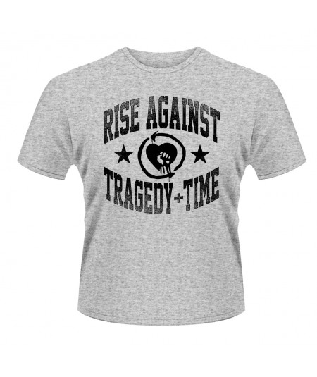 Tricou Unisex Rise Against: Tragedy Time