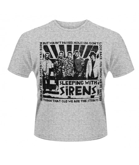 Tricou Unisex Sleeping With Sirens: Clipping