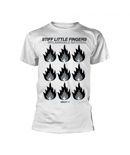Tricou Unisex Stiff Little Fingers: Inflammable Material