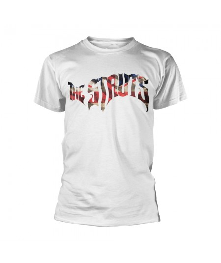 Tricou Unisex The Struts: Flag Logo