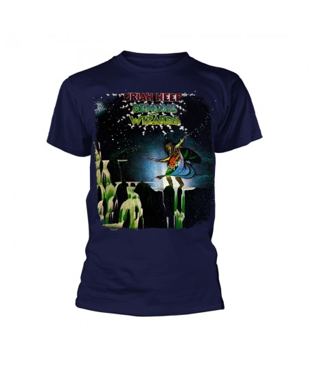 Tricou Unisex Uriah Heep: Demons And Wizards