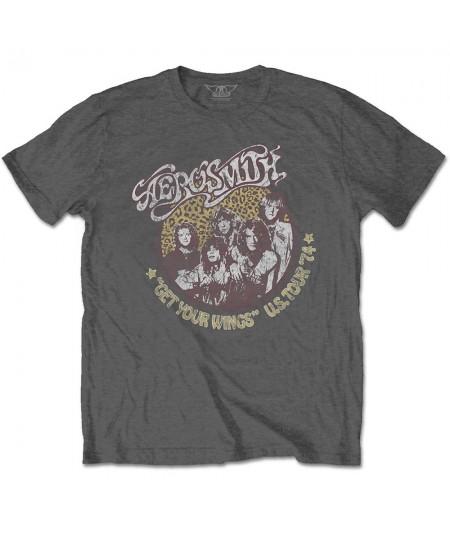 Tricou Unisex Aerosmith: Cheetah Print