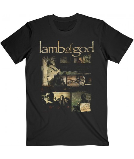 Lamb Of God: Album Collage