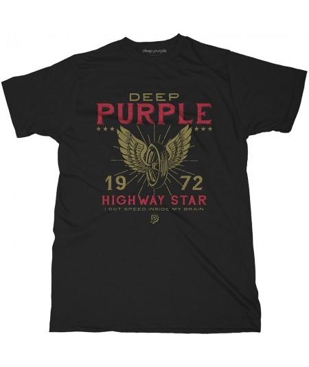 Tricou Unisex Deep Purple: Highway Star