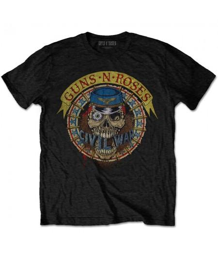 Tricou Guns N' Roses: Skull Circle