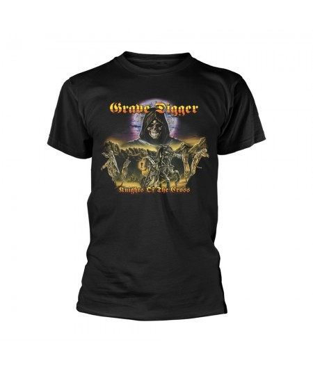 Tricou Unisex Grave Digger: Knights Of The Cross