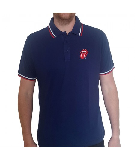 Tricou Polo The Rolling Stones: Classic Tongue