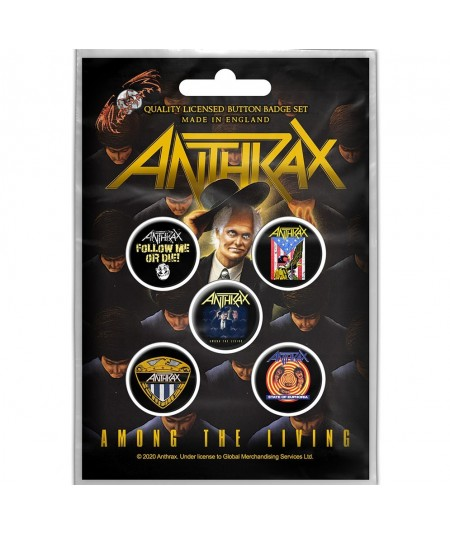 Insigne Anthrax: Among The Living