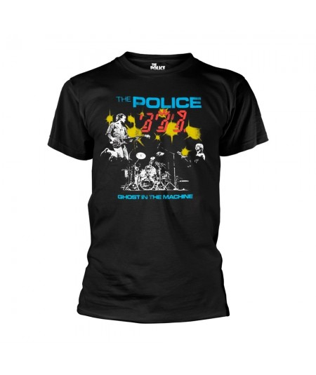 Tricou Unisex The Police: Ghost In The Machine Live