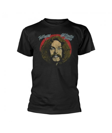 Tricou Unisex Ted Nugent: Cat Scratch Fever Tour '77