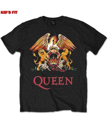 Tricou Copii Queen: Classic Crest