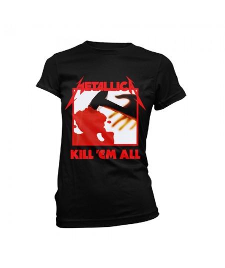 Tricou Dama Metallica: Kill Em All Tracks