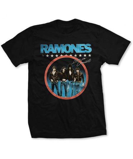 Tricou Unisex Ramones: Circle Photo