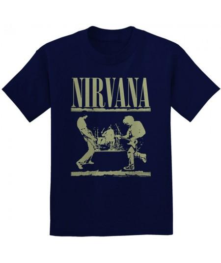 Tricou Unisex Nirvana: Stage