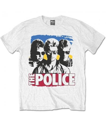 Tricou Unisex The Police: Band Photo Sunglasses