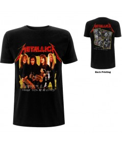 Tricou Unisex Metallica: Garage Photo Yellow