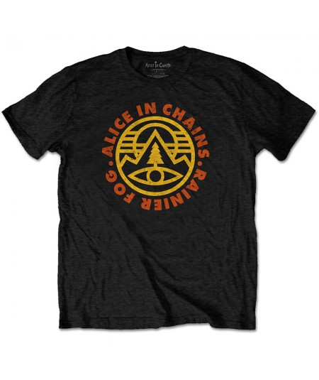 Tricou Unisex Alice In Chains: Pine Emblem