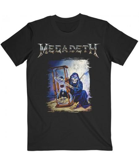 Tricou Unisex Megadeth: Countdown Hourglass