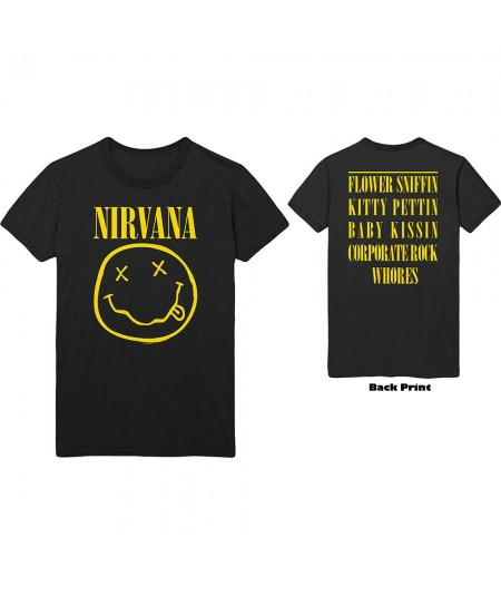 Tricou Unisex Nirvana: Flower Sniffin