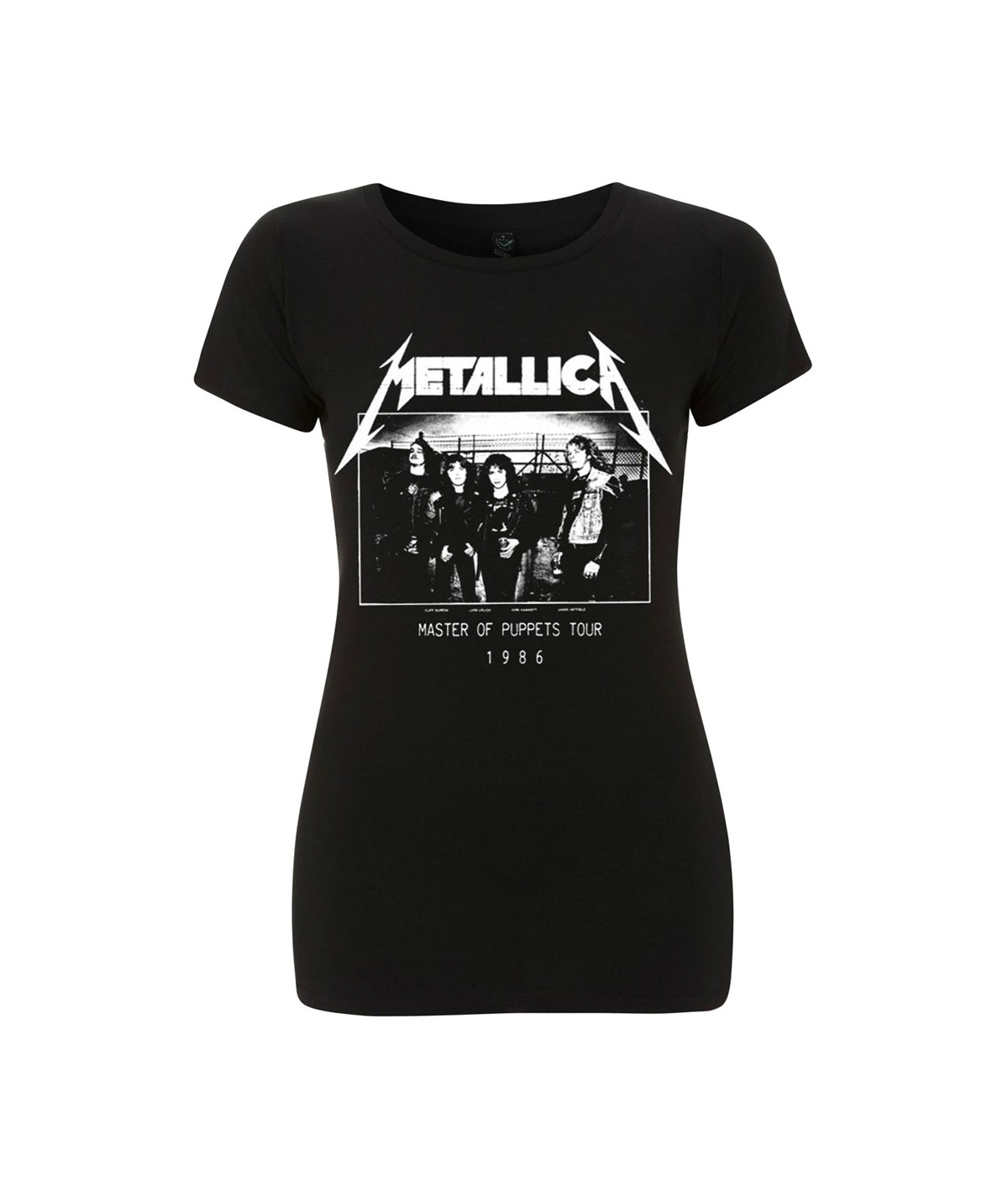 Tricou Dama Metallica: MOP Photo Damage Inc Tour