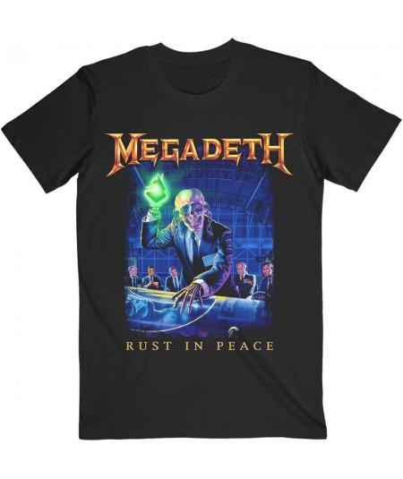 Tricou Unisex Megadeth: Rust In Peace Tracklist
