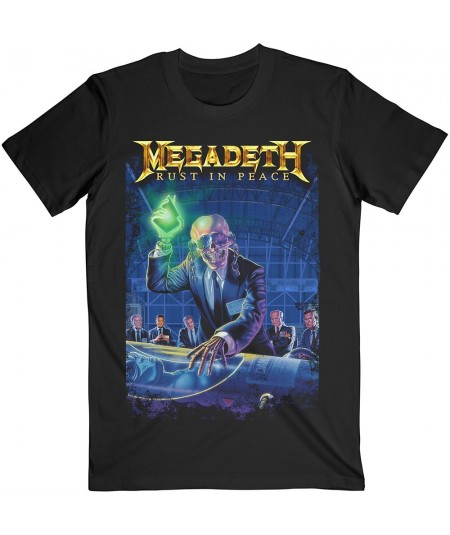 Tricou Unisex Megadeth: Rust In Peace 30th Anniversary