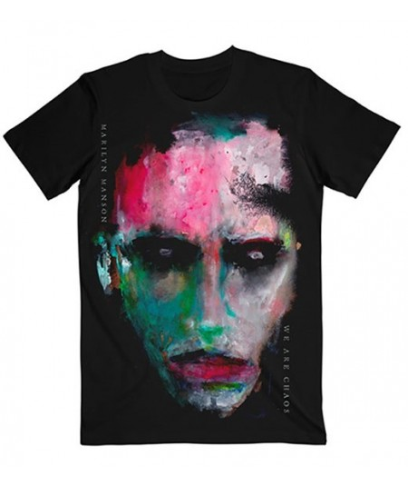 Tricou Unisex Marilyn Manson: We Are Chaos Cover