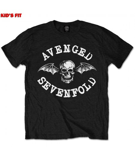 Tricou Copii Avenged Sevenfold: Classic Deathbat
