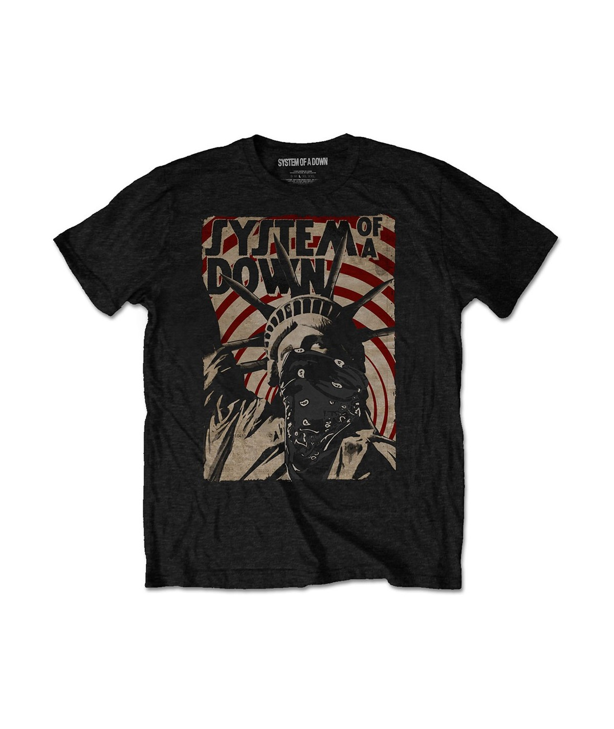 Tricou Unisex System Of A Down: Liberty Bandit
