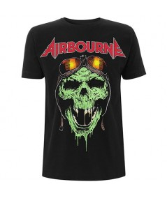 Tricou Unisex Airbourne: Hell Pilot Glow