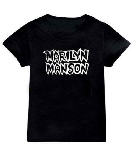Tricou Copii Marilyn Manson: Classic Logo
